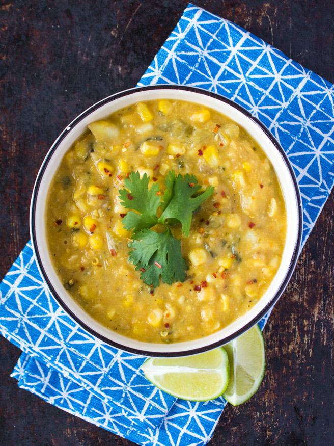 RECIPE ALERT: Creamy Corn Chowder |